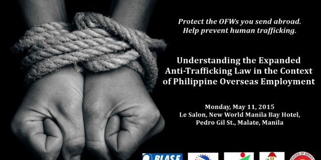IACAT, POEA enlists support of recruitment industry in fight against human trafficking