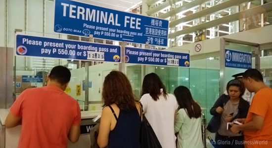 Ople Center calls MIAA's plan to scrap Php550 terminal fee an early Christmas gift for OFWs